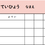【無料ダウンロード】コロナウイルス休校中の予定表を作ってみた。